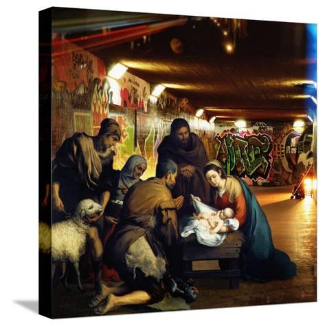 Away in a Manger, 2008-Trygve Skogrand-Stretched Canvas Print