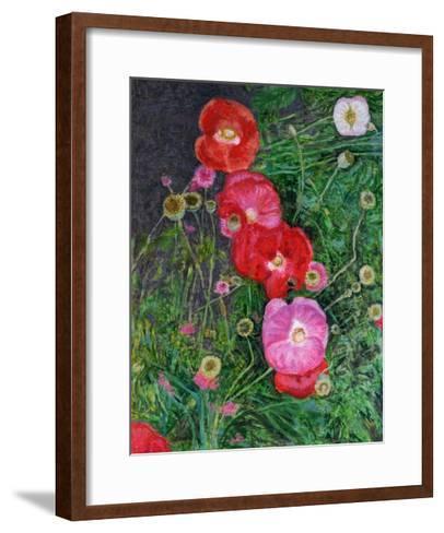 Poppies, 2009-Ruth Addinall-Framed Art Print