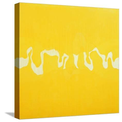 Yellow Journey-Charlie Millar-Stretched Canvas Print