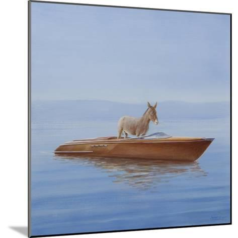 Donkey in a Riva, 2010-Lincoln Seligman-Mounted Giclee Print