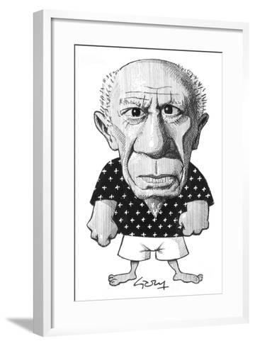 Picasso-Gary Brown-Framed Art Print