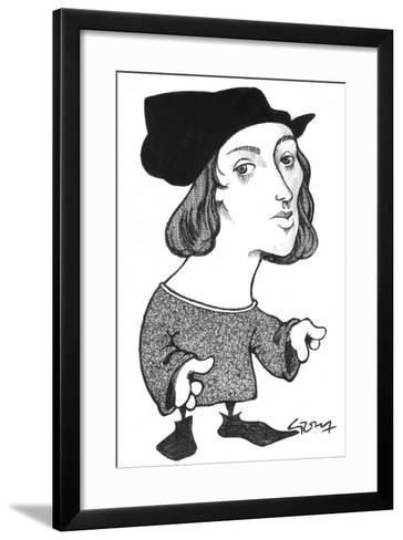 Raphael-Gary Brown-Framed Art Print