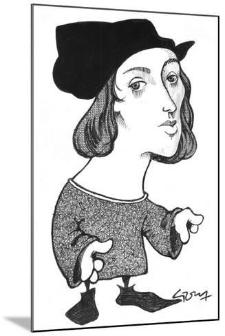 Raphael-Gary Brown-Mounted Giclee Print