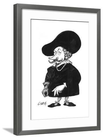 Rubens-Gary Brown-Framed Art Print