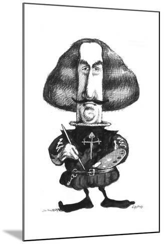 Velazquez-Gary Brown-Mounted Giclee Print