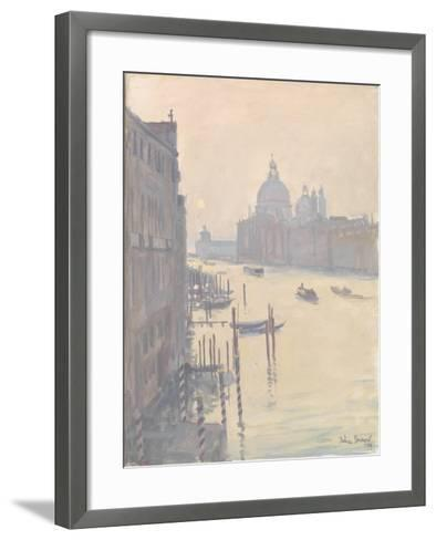 Sunrise from Accademia Bridge, 2009-Julian Barrow-Framed Art Print