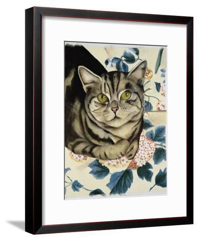 Tabby Cat-Anne Robinson-Framed Art Print
