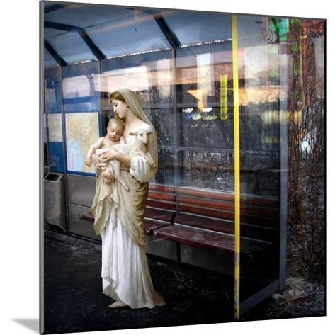 Madonna of the Bus-Stop, 2008-Trygve Skogrand-Mounted Giclee Print