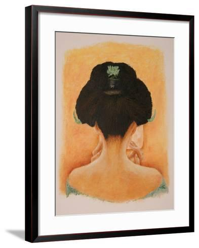 Geisha, 2010-Stevie Taylor-Framed Art Print