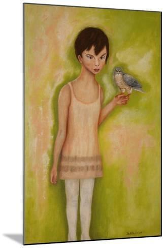 Trust-Girl with a Sparrow Hawk, 2010-Stevie Taylor-Mounted Giclee Print