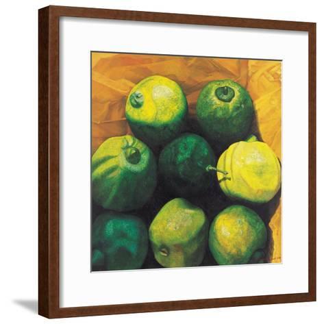 Limes, 2004-Pedro Diego Alvarado-Framed Art Print