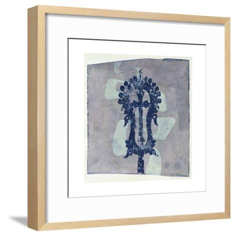 The Stolen Cross-Charlie Millar-Framed Art Print