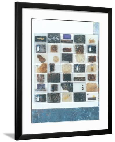 Bee Resin Casts-Charlie Millar-Framed Art Print
