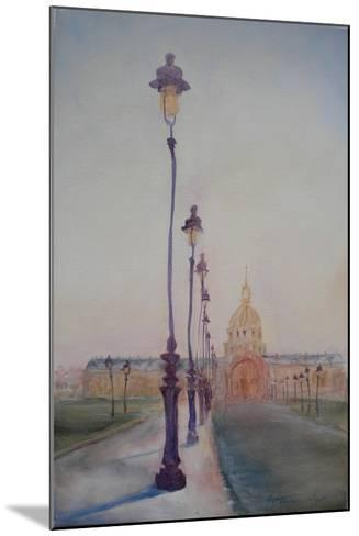 Lamp Post in Front of Dome Church, 2010-Antonia Myatt-Mounted Giclee Print