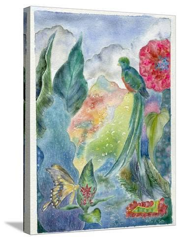 Cloud Forest with Swallowtail Butterfly, 2010-Louise Belanger-Stretched Canvas Print