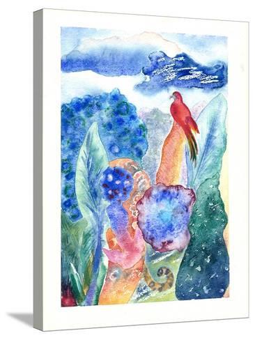 Paradise Bird, 2010-Louise Belanger-Stretched Canvas Print