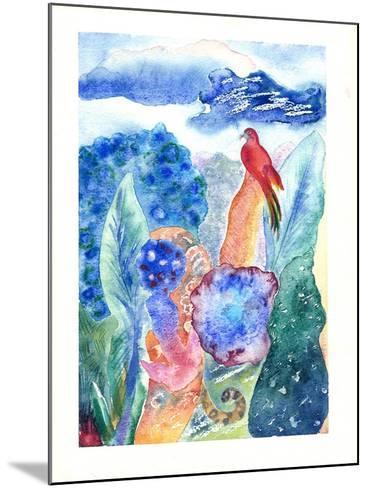 Paradise Bird, 2010-Louise Belanger-Mounted Giclee Print