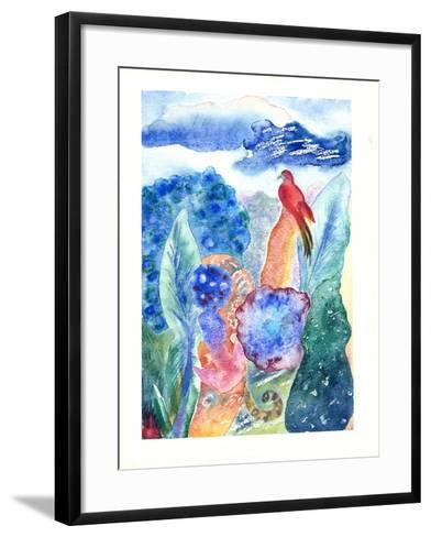 Paradise Bird, 2010-Louise Belanger-Framed Art Print
