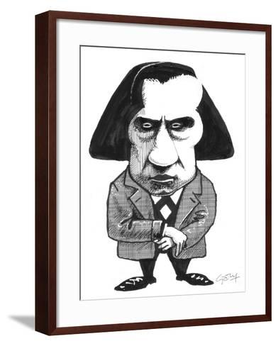 Chopin-Gary Brown-Framed Art Print