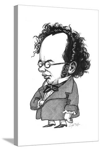 Schubert-Gary Brown-Stretched Canvas Print