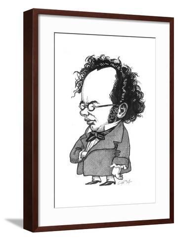 Schubert-Gary Brown-Framed Art Print