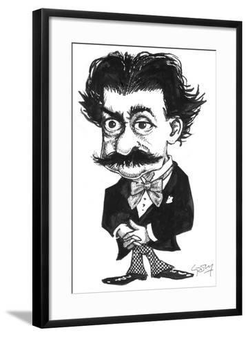 Strauss-Gary Brown-Framed Art Print