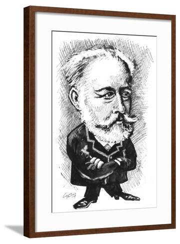 Tchaikovsky-Gary Brown-Framed Art Print