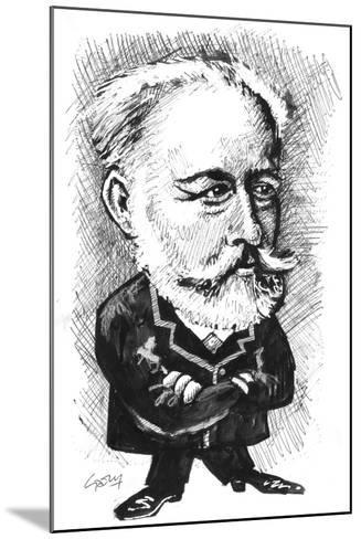 Tchaikovsky-Gary Brown-Mounted Giclee Print