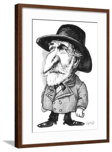 Verdi-Gary Brown-Framed Art Print