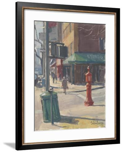 Lexington Avenue, 2010-Julian Barrow-Framed Art Print