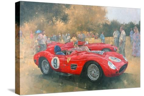 Ferrari, Day Out at Meadow Brook-Peter Miller-Stretched Canvas Print