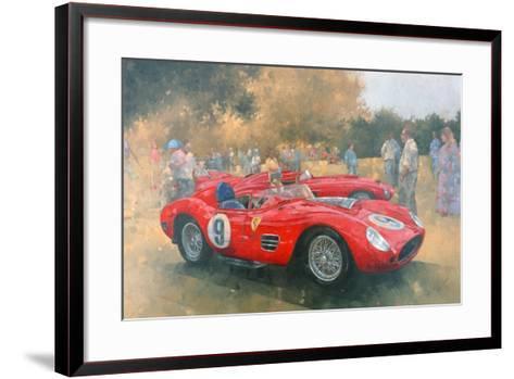 Ferrari, Day Out at Meadow Brook-Peter Miller-Framed Art Print