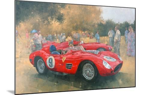 Ferrari, Day Out at Meadow Brook-Peter Miller-Mounted Giclee Print