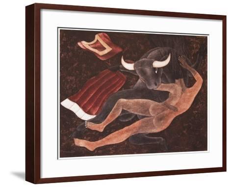 Eclipse-Juan Alcazar-Framed Art Print
