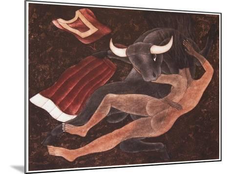 Eclipse-Juan Alcazar-Mounted Giclee Print