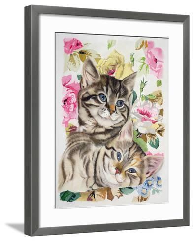 Two Kittens-Anne Robinson-Framed Art Print