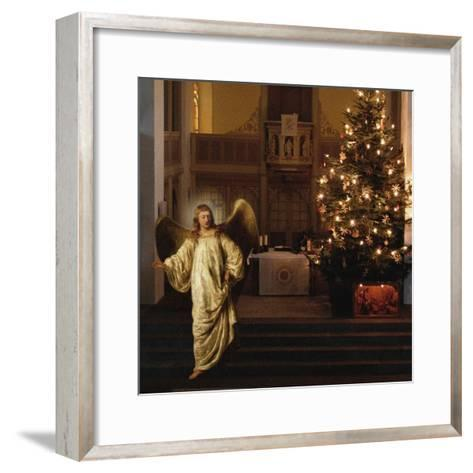Setting Out, 2008-Trygve Skogrand-Framed Art Print