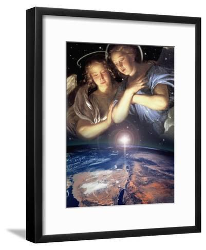 Star of Bethlehem, 2006-Trygve Skogrand-Framed Art Print