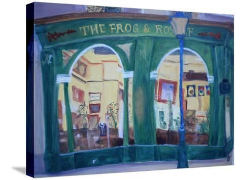 Frog and Roast Beef, 2010-Antonia Myatt-Stretched Canvas Print