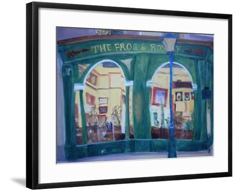 Frog and Roast Beef, 2010-Antonia Myatt-Framed Art Print