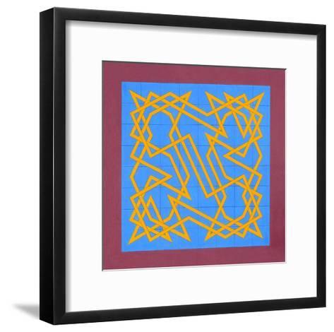 Knights Talisman, 2011-Peter McClure-Framed Art Print