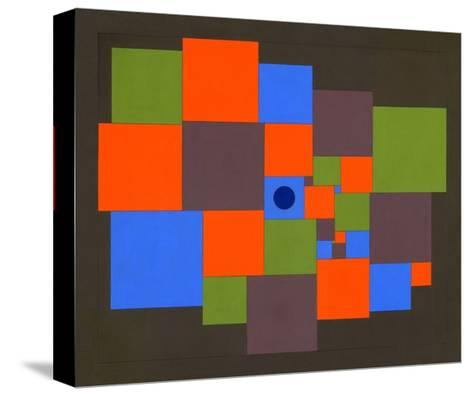 Squares, 2011-Peter McClure-Stretched Canvas Print