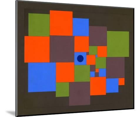 Squares, 2011-Peter McClure-Mounted Giclee Print