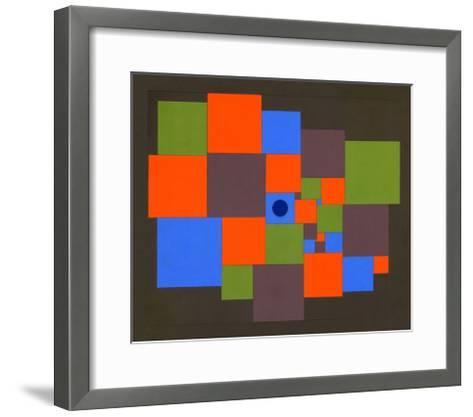 Squares, 2011-Peter McClure-Framed Art Print