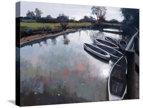 Barcombe Mills, Sussex, 2007-Peter Wilson-Stretched Canvas Print