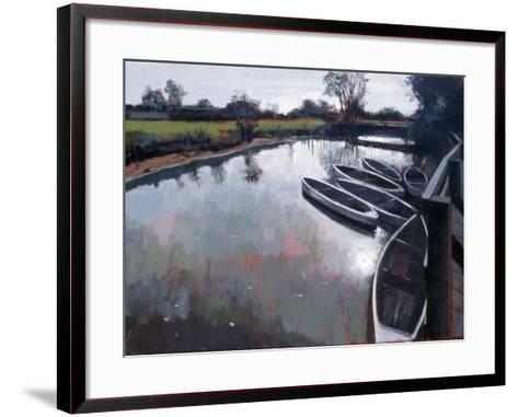 Barcombe Mills, Sussex, 2007-Peter Wilson-Framed Art Print