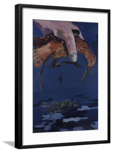 Big Hand in the Sky, 1978-Peter Wilson-Framed Art Print