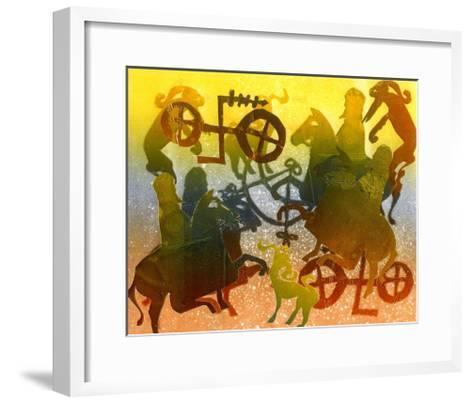 Evening-Gloria Wallington-Framed Art Print