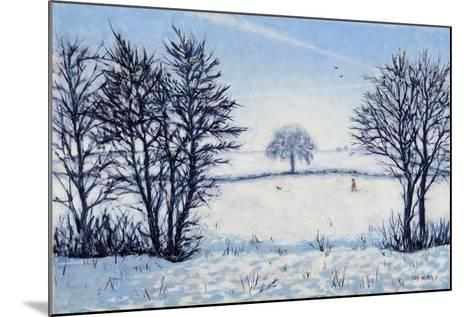 A Winters Walk-Tilly Willis-Mounted Giclee Print