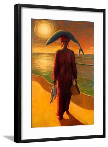 Evening Catch-Tilly Willis-Framed Art Print